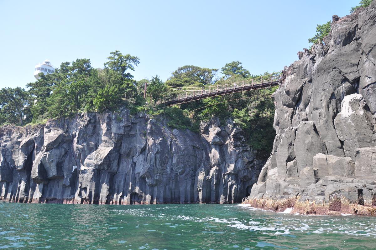 城ヶ崎海岸北(門脇つり橋)