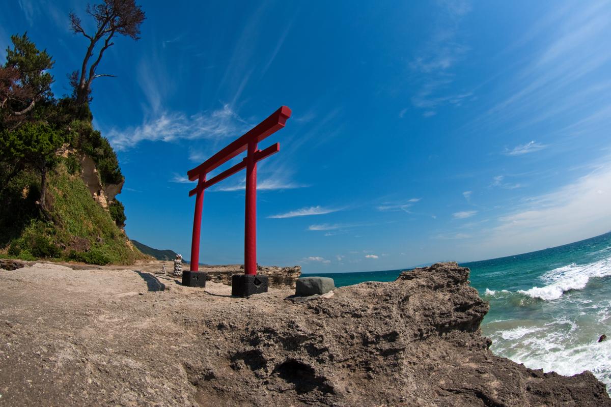 白浜海岸・白濱神社