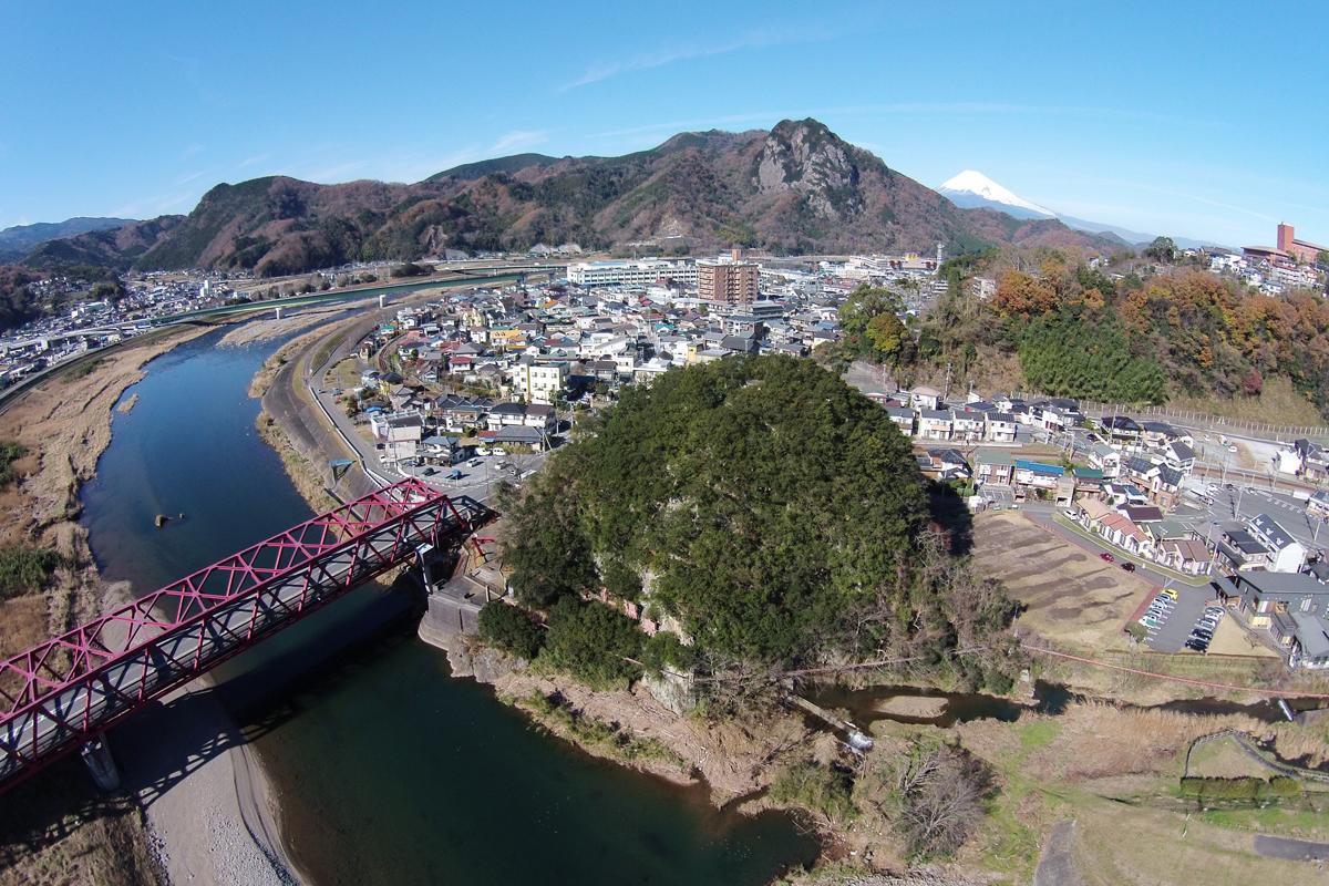 大仁橋・水晶山